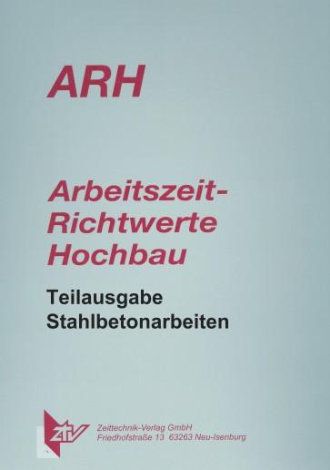 ARH Teilausgabe Stahlbetonarbeiten