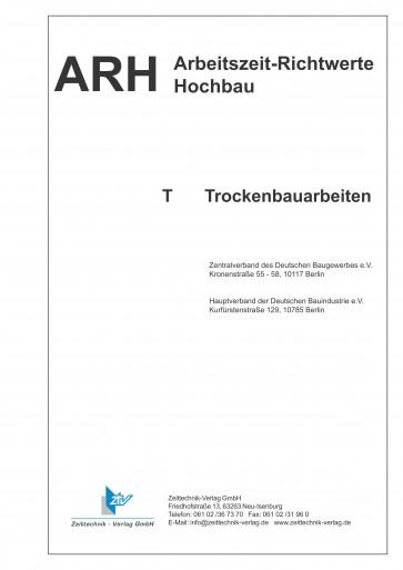 ARH-Tabellen Trockenbau - Gesamtausgabe (Download)