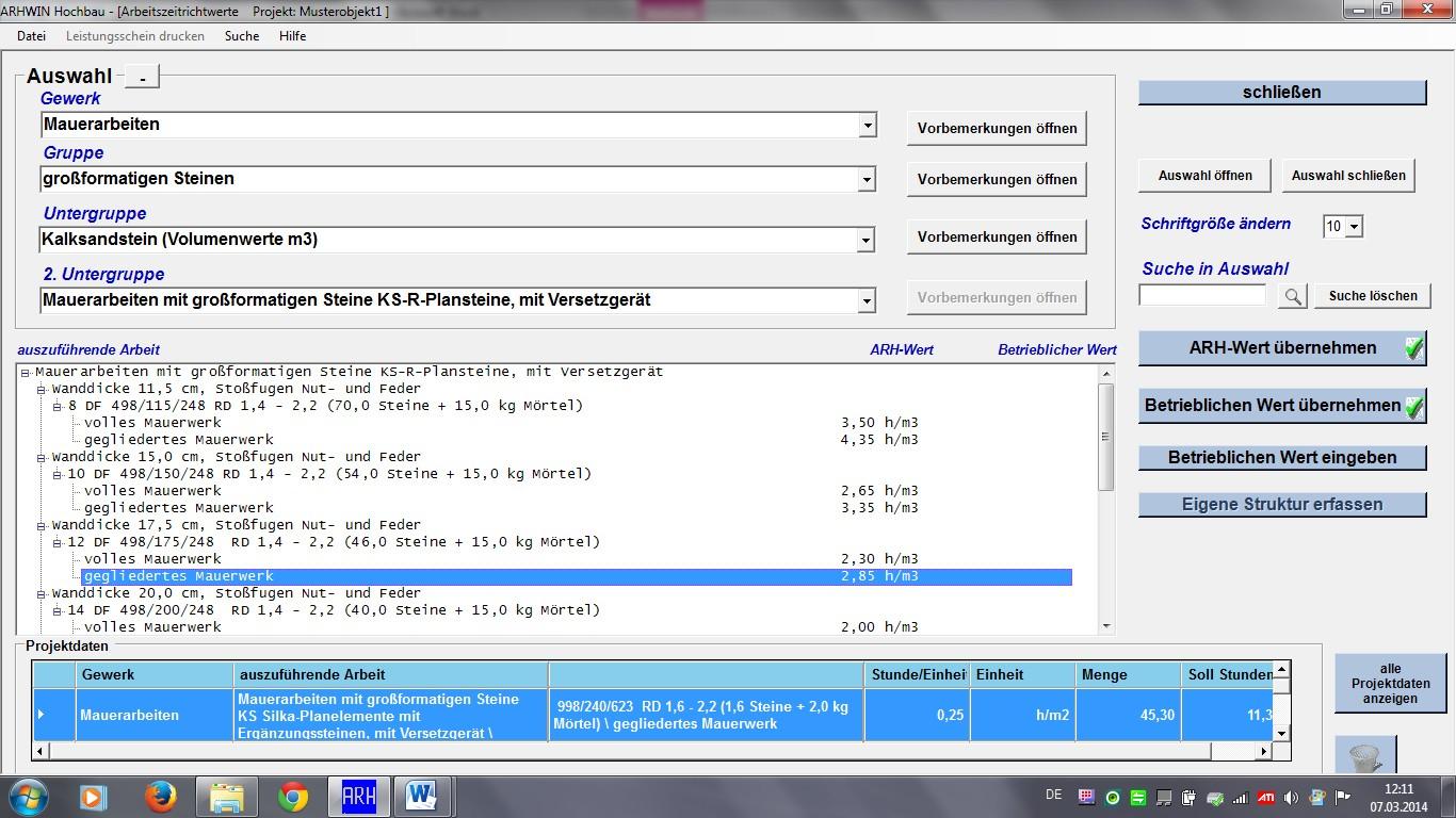 ARHWIN Hochbau für Windows - Vollversion