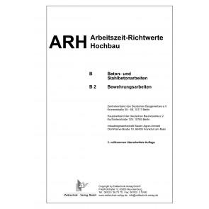 ARH-Tabelle Bewehrungsarbeiten (Download)