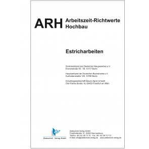 ARH-Tabelle Estricharbeiten (Download)