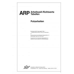 ARH-Tabelle Putzarbeiten (Download)