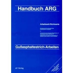 ARH-Tabelle Tiefbau Gußasphalt-Arbeiten