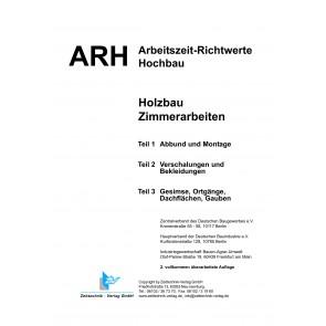 ARH-Tabelle Holzbau, Gesamtausgabe (Download)