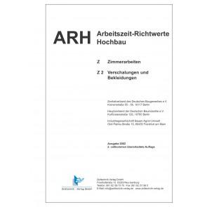 ARH-Tabelle Holzbau - Teil 2: Verschalungen und Bekleidungen (Download)