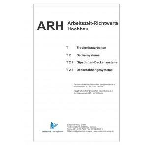 ARH-Tabellen Trockenbau - Teil 2: Deckensysteme (Download)