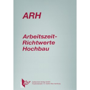 ARH-Tabelle Schalarbeiten, konventionelle u. Großfläch. Schalung